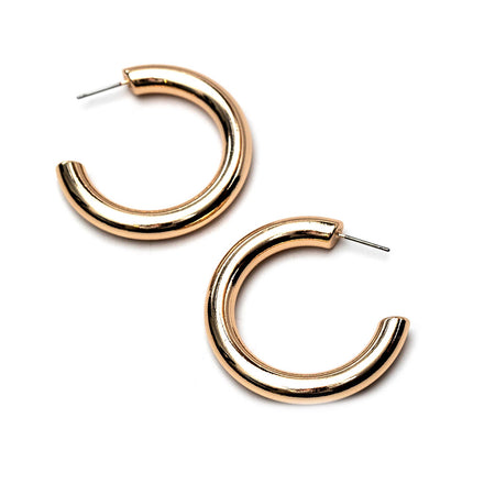 Thick Shiny Hoop 2.0in. GOLD