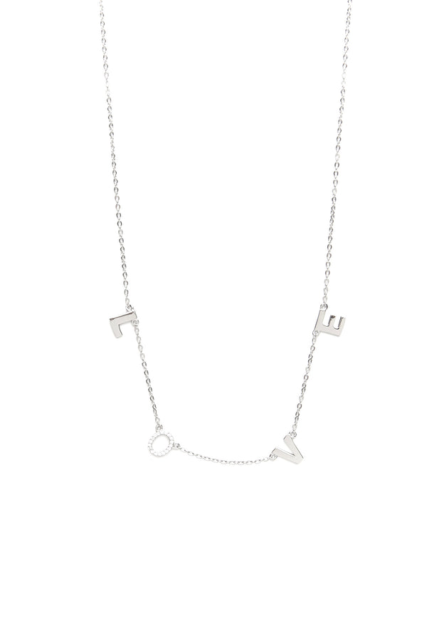 Love Pave Necklace