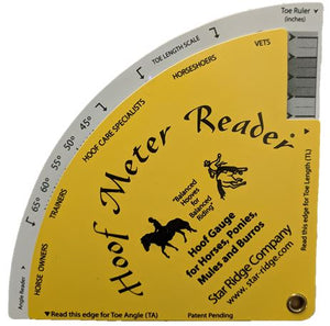 The Original Hoof Meter Reader®Hoof Gauge