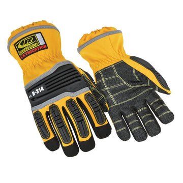 RINGERS GLOVES EXTRICATION GLOVE SHORT CUFF - HI VIS