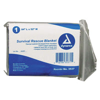 DYNAREX Emergency Survival Rescue Blanket