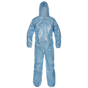 Pyrolon® .5 mil CRFR Coverall - Hood, Elastic Wrist/Ankle