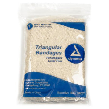 Triangular Bandage Cotton 36 X 36 X 51 Inch