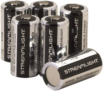 Streamlight 85175 CR123A Lithium Battery