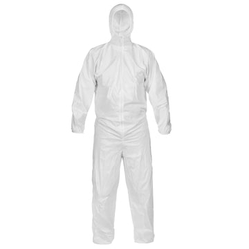 CleanMax® Clean Manufactured Coverall - Hood, Elastic Wrist/Ankle