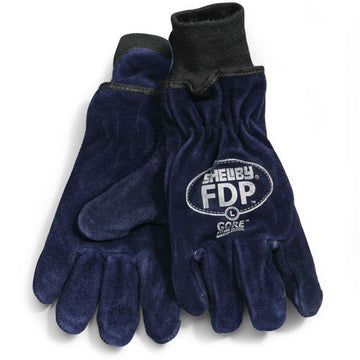 SHELBY FDP KOALA/GORE COWHIDE GLOVES WITH KNIT WRISTS 5227