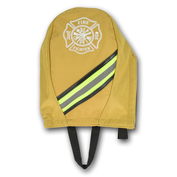GEAR BAGS/LIGHTNING X SCBA Mask Bag w/ Anti-Scratch Lining, Triple Trim Reflective, Maltese Cross & Snap Hook