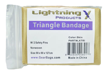 GEAR BAGS/LIGHTNING X Triangle Bandage — Pack of 20