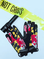 Maryland State Flag Gloves