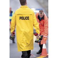 NEESE Full Length Economy Raincoat With Detachable Hood - POLICE / CROSSING GUARD