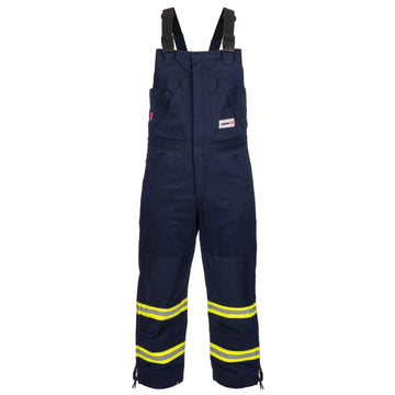 FR Insulated Bib Pants with Reflective Trim