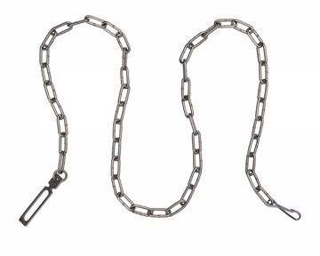 "PEERLESS HANDCUFF COMPANY 60"" Security Chain - Nickel"