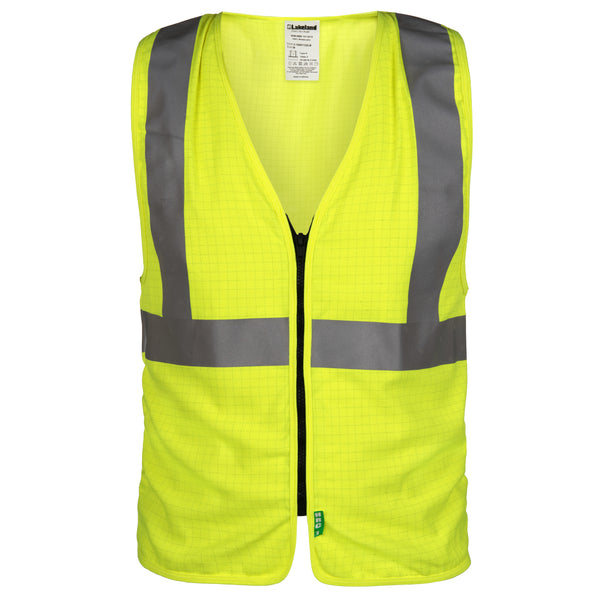 FR/ARC Hi-Vis Vest - Static Dissipative Solid Fabric