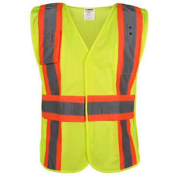 Public Safety Premium Mesh Vest - 5 Point Break-away