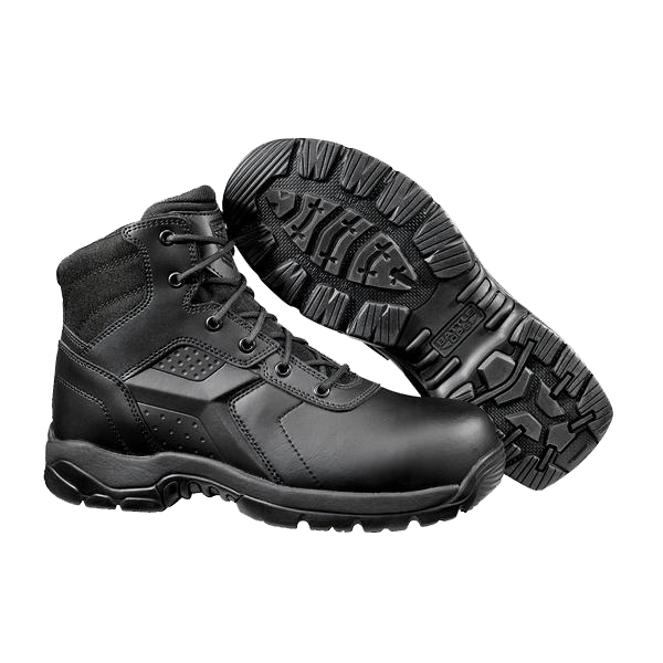 6-Inch Waterproof Tactical Boot - Side Zip Comp Safety Toe