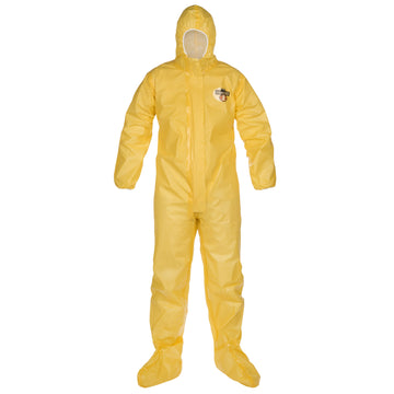 ChemMax® 1 Sealed Seam Coverall - Respirator-fit hood