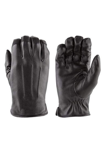 DAMASCUS LUXE Deer Skin Leather Gloves w/ Faux Fur Lining