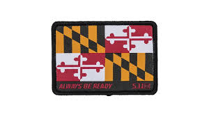 5.11 Maryland Flag Velcro Patch