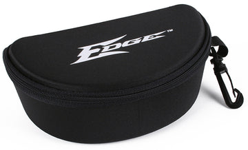 EDGE TACTICAL EYEWEAR Hard Case, Black, Nylon