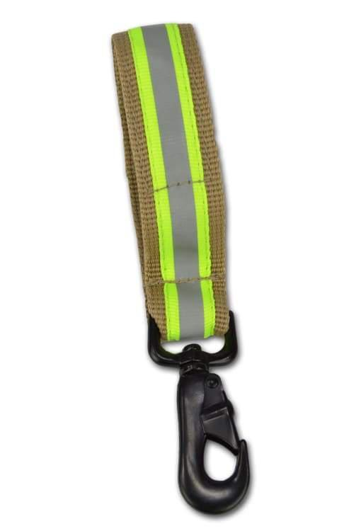 Gearbags/lightning X Heavy-Duty Firefighter Work Glove Strap W/ Reflective Turnout Tan - Public Safety