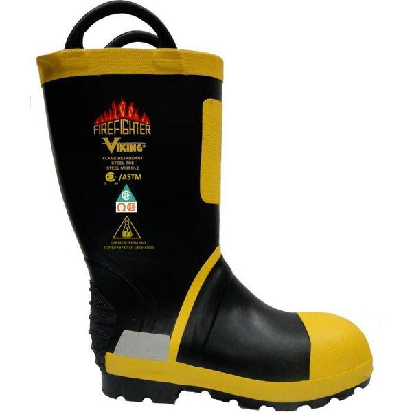 Viking Firefighter® Felt Lined Boots - Public Safety