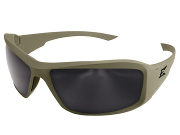 Edge Hamel Ranger Green Polarized- Soft-Touch Matte Green Thin Temple Frame/G-15 Vapor Shield Lens Sunglasses