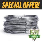 2.5MM HIGH TENSILE WIRE - BUY 40 COILS & SAVE $920