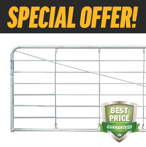 12'/3.66m FARM GATES - BUY 10 & SAVE $345!