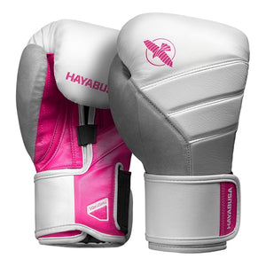 hayabusa t3 gloves black and pink