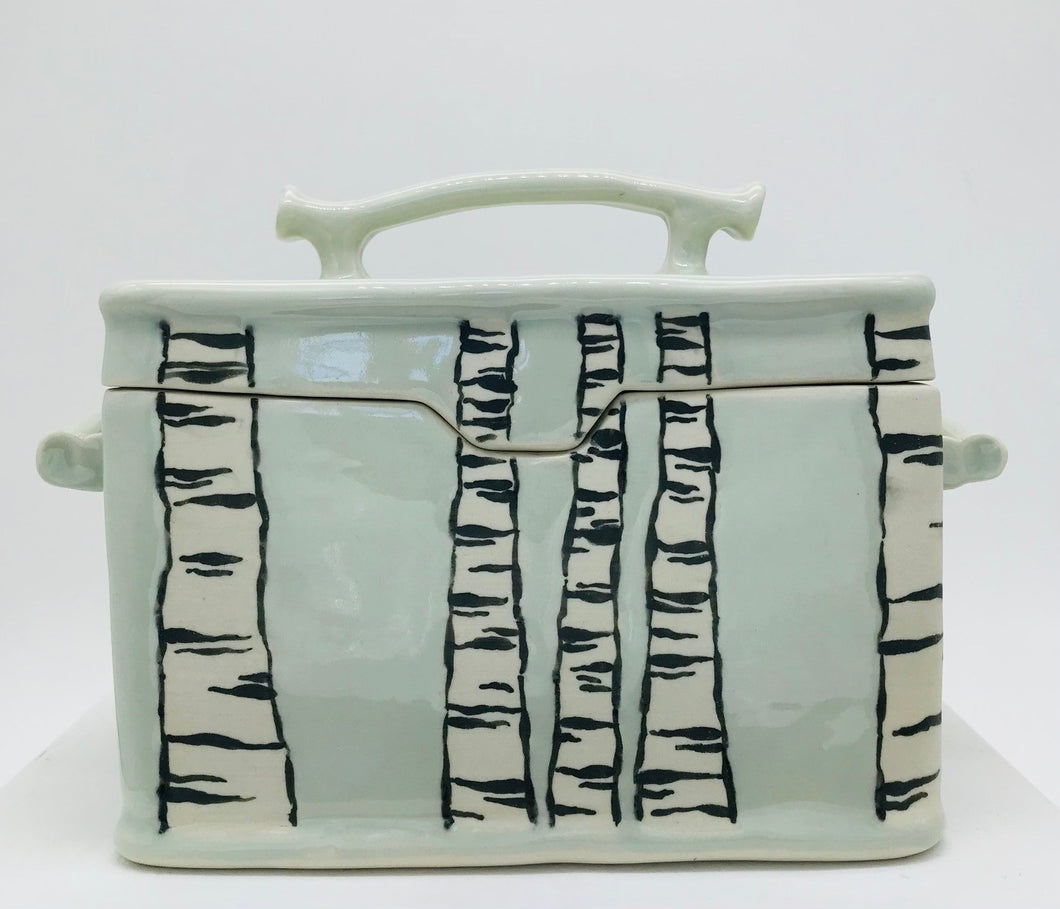 Hilary Forge - Birch Lidded Container