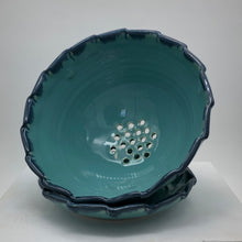 Load image into Gallery viewer, Barbara Howe - Turquoise Berry Bowl