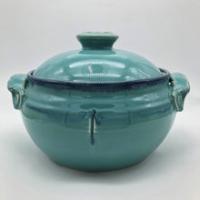 Load image into Gallery viewer, Barbara Howe - Turquoise Casserole Dish