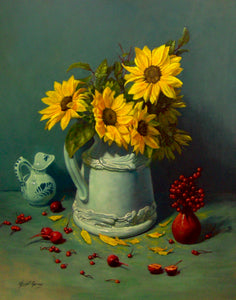 Marilyn Lambert Gerwing - Sunflowers