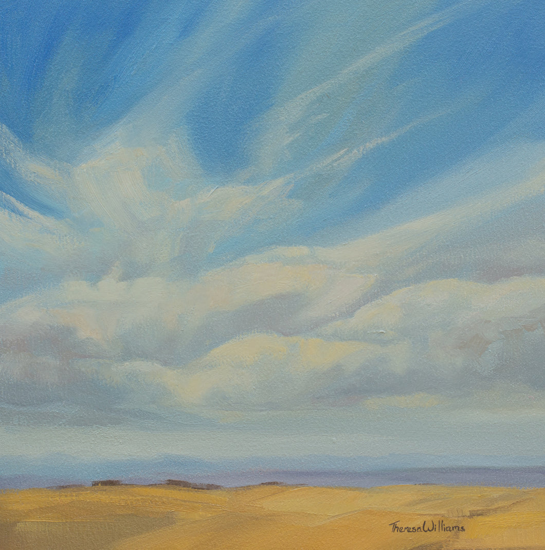 September Skies, Plein Air
