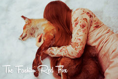 The fashion red fox Chloé Dumont