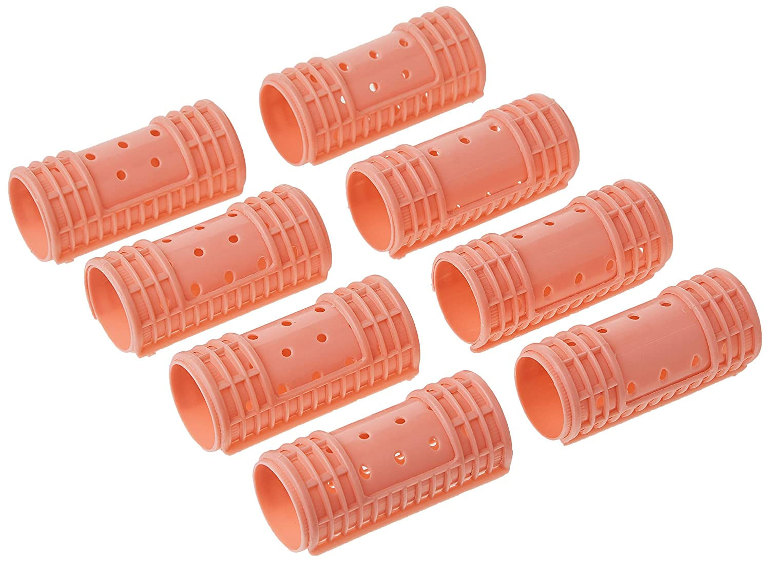 Diane Snap-On Magnetic Rollers Pink, 1-1/8