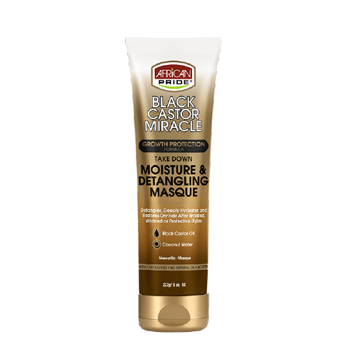 African Pride Black Castor Miracle Moisture Restore Treatment