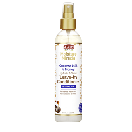 African Pride Moisture Miracle Coconut Milk And Honey Leave-In Conditioner