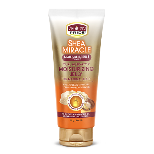 African Pride Shea Miracle Curl Activator Moist Jelly
