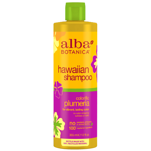Alba Botanica Hawaiian Colorific Plumeria Replenishing Shampoo