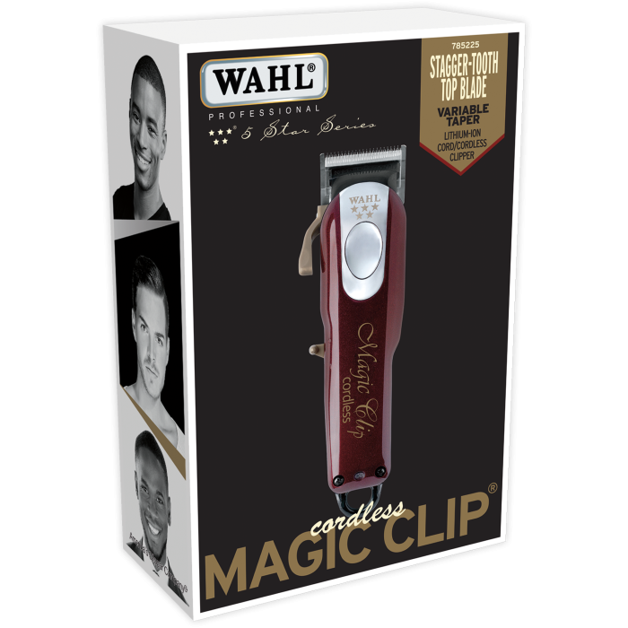 Wahl Cordless 5-Star Magic Clip Fade Clippers