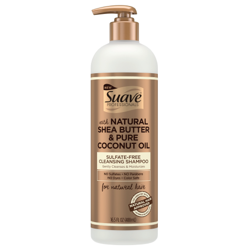 Suave Pro Shea Butter & Coconut Oil Cleansing Shampoo