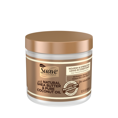 Suave Pro Shea Butter & Coconut Oil  Leave-In Conditioner