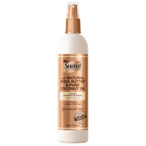 Suave Pro Shea Butter & Coconut Oil Detangler Spray