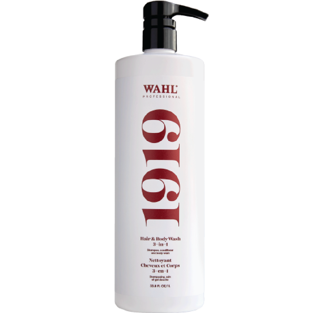 WAHL 1919 3-in-1 Hair and Body Wash 33.8 oz