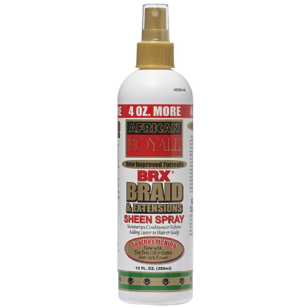 African Royale BRX Braid & Extension Spray