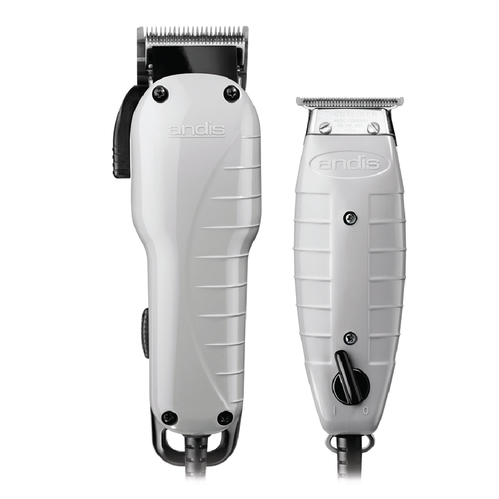 Andis Barber Combo Clipper Trimmer Set