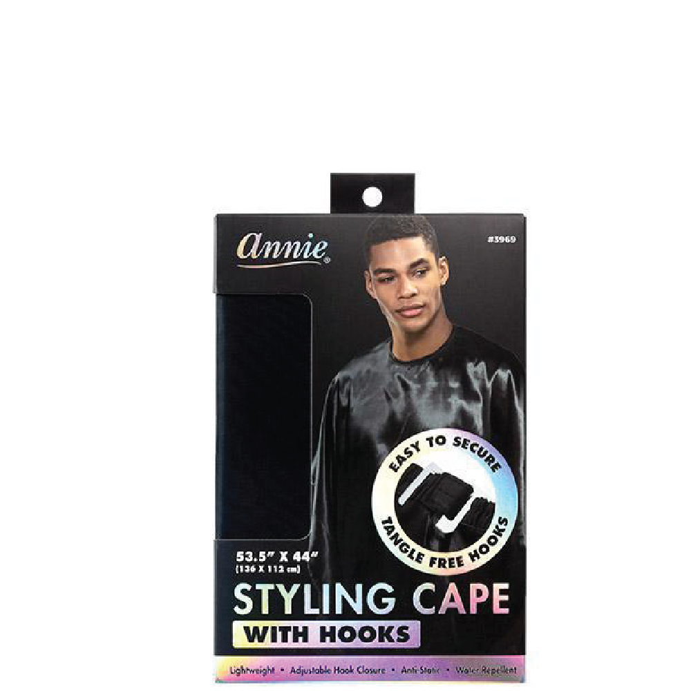 Annie Styling / Barber Cape Black