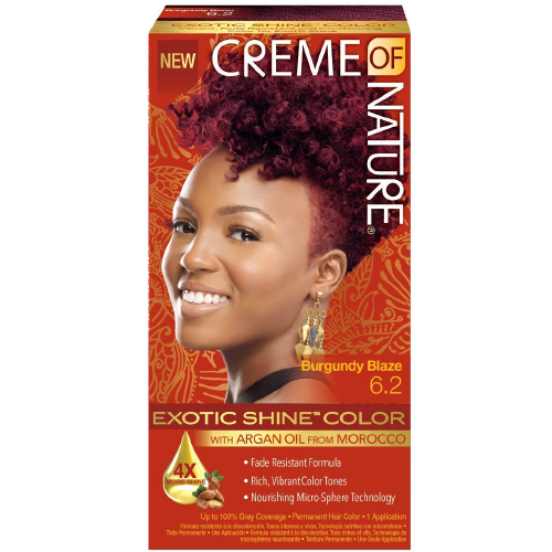 Creme Of Nature Exotic Shine Hair Color Burgundy Blaze 6.2