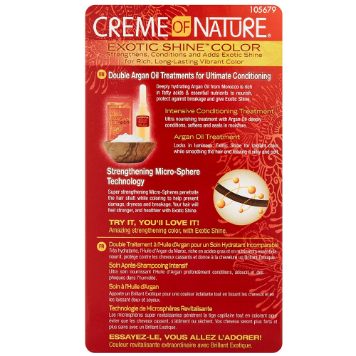 Creme Of Nature Exotic Shine Hair Color Light Golden Blonde 9.23